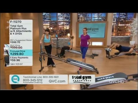 Total Gym Setup Rosalie Brown QVC - YouTube