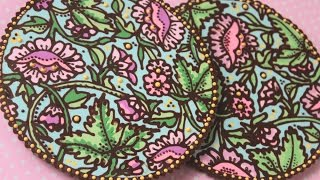 How To Pipe Multi-Color Chocolate Doilies