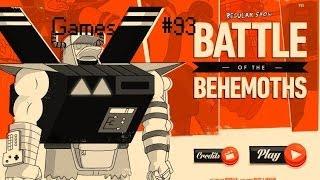 Games: Regular Show Battle Of Benemoths