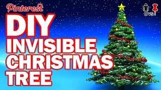 DIY Invisible Christmas Tree - Man Vs Pin #103