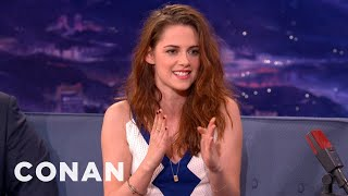 Kristen Stewart Has A Famewhore Dad - CONAN on TBS view on youtube.com tube online.