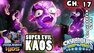 Let's Play Skylanders Swap Force: Super Evil Kaos Boss