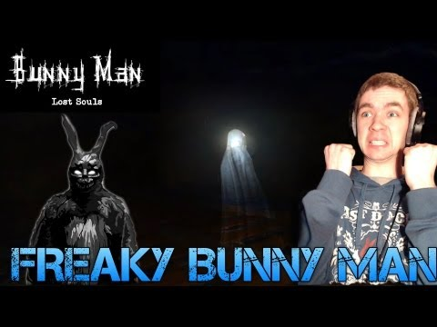 Bunny Man: Lost Souls - FREAKY BUNNY MAN - Indie Horror Game Commentary/Facecam