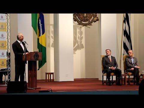 Posse de Aldo Rebelo na Secretaria da Casa Civil de São Paulo