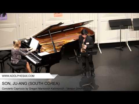 Dinant 2014 SON Ju ang Concierto Capriccio by Gregori Markovich Kalinkovich Version DINANT