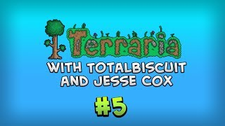 Terraria 1.2: Deep Place Mine - Episode 5 - Jesse is bad at parental responsibiliities