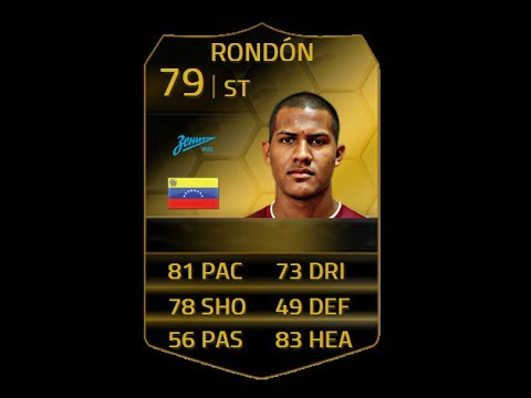 FIFA 14 IF RONDON 79 Player Review & In Game Stats Ultimate Team