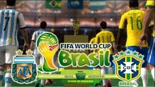 FIFA 2014 World Cup Final Argentina Vs Brasil