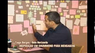 Casa Fiat de Cultura tem iniciativa inspirada em troca de cartas com Drummond