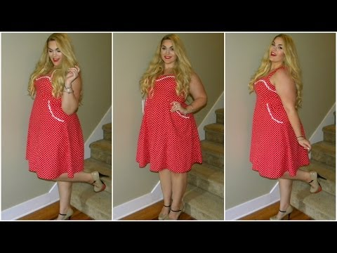 The Curvy Diaires: Pin-Up & Polka Dots | Plus-Size OOTD