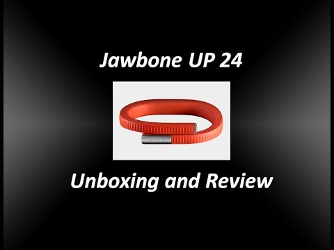 Jawbone UP 24 Unboxing Firstlook & App Setup