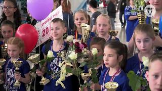 Ансамбль «Грация» привез домой 41 золотую медаль Всемирной Танцевальной Олимпиады