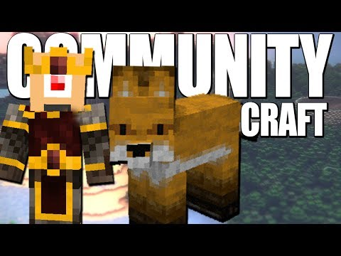 ♪♪ What does the fox say PARODY ♪♪ - Minecraft: Communitycraft ( Deel 19 )