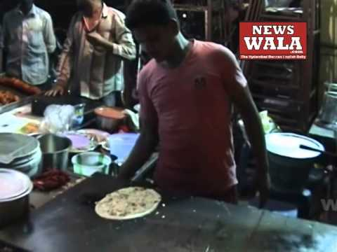 Ramadan special dry fruit dosa being sold in Old city of Hyderabad