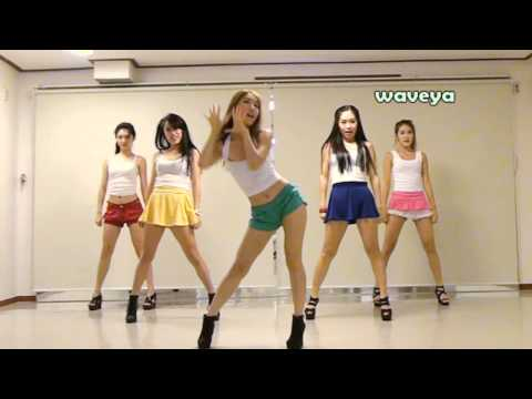 PSY싸이 - GANGNAM STYLE (강남스타일) Waveya 웨이브야 Korean dance team,