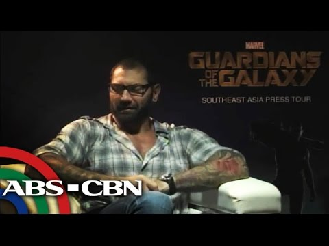 Cast of Guardians of the Galaxy fall in love with Pinoy adobo