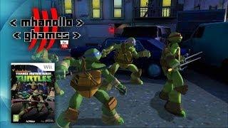 Nintendo Wii: As Tartarugas Ninjas.