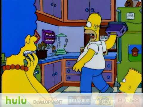 The Simpsons - Hand In Toaster      - YouTube