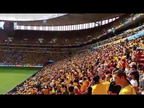 Colombia - Ivory Coast - National Anthems - Brasilia - FIFA World Cup 2014 - Priceless
