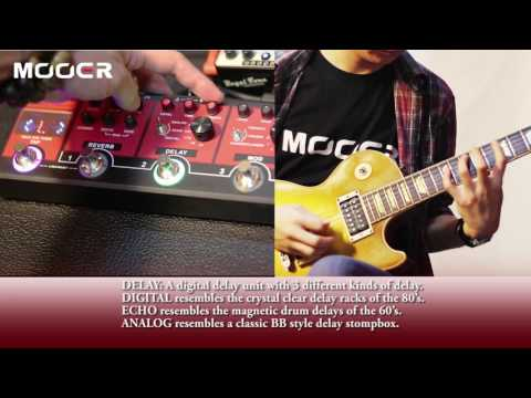 Mooer Red Truck Combined Guitar Multi Effects Pedalboard