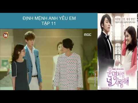 [Phim Hàn Quốc] Định mệnh anh yêu em Tập 11 part 1