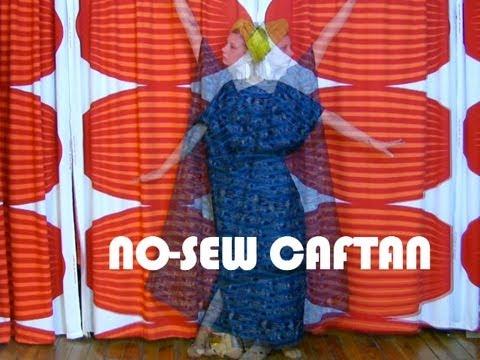 DIY No-Sew Caftan