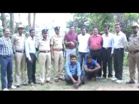 Inter State thief Caught by Kodagu Police