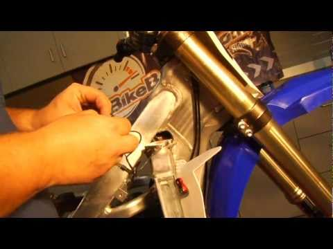Dirt Bike Hour Meter Installation