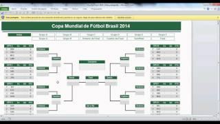 Fixture Para El Mundial De Brasil 2014