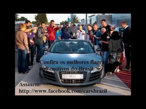 Acidentes com carros exoticos no Brasil