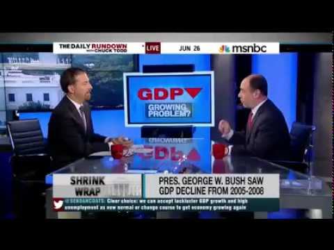 Douglas Holtz-Eakin Discusses the GDP on MSNBC's