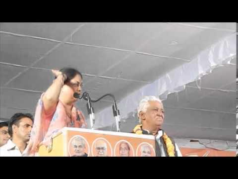 Rajasthan BJP President Smt. Vasundhara Raje's speech at Dausa
