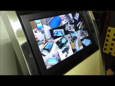 スマートフォンOS アンドロイドマルチタッチデジタルサイネージ発売