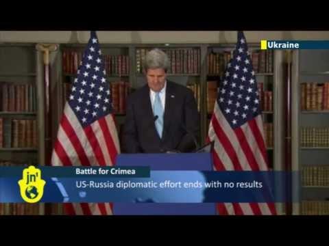 Battle for Crimea: US won't recognise results of Crimea referendum
