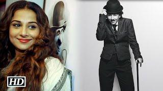 IANS : First Look: Watch Vidya Balan as Charlie Chaplin