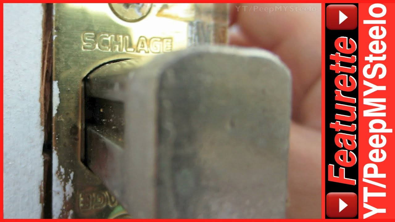 Schlage Deadbolt Door Lock Cylinder Amp Door Knob