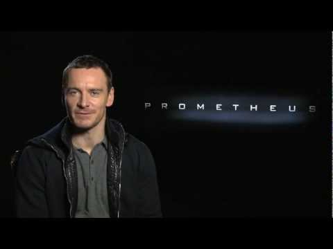 Michael Fassbender Promotes New Prometheus International Trailer