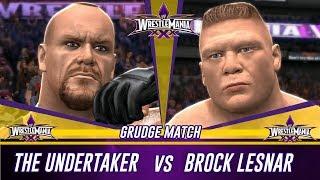 WWE 2K14 Wrestlemania 30 The Undertaker vs Brock Lesnar (Simulation)