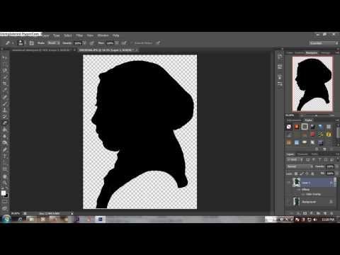 Tutorial Photoshop - Cara Membuat Siluet PAS MANTAP