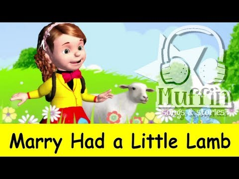 Mary Had a Little Lamb | nursery rhymes & children songs with lyrics