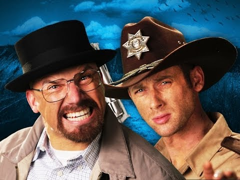 Rick Grimes vs Walter White.  Epic Rap Battles of History Season 3.