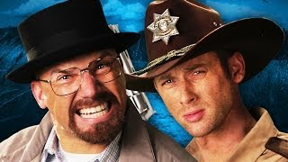 Rick Grimes vs Walter White:  Epic Rap Battles of History
