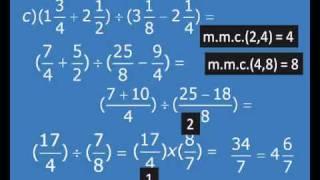 Matemática Fund.1- Frações Básica Aula 3/4