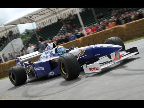 Felipe Massa Hillclimb Run Festival of Speed 2014