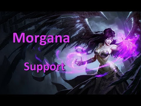 LoL Gameplay FR Tryhard - Support Morgana vs Karma - Le pick old school