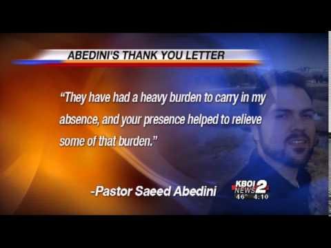 Pastor Abedini Thanks Obama