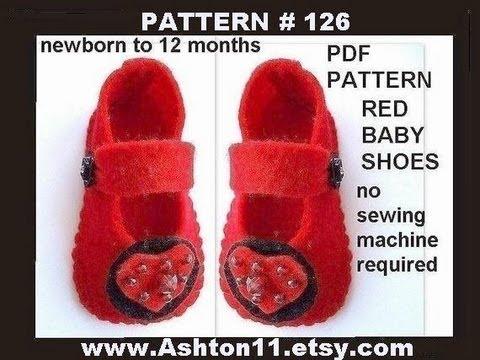 infant felt booties | eBay - Electronics, Cars, Fashion