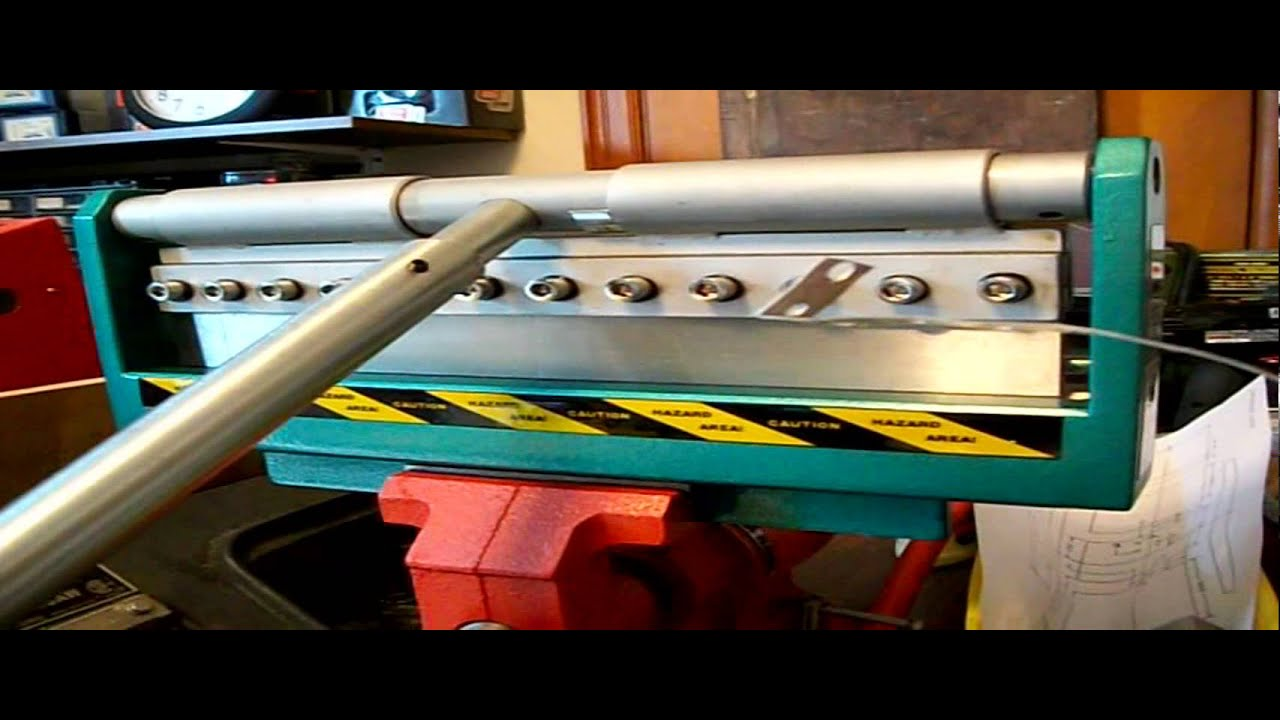Grizzly Sheet Metal Brake And Slip Roller Youtube