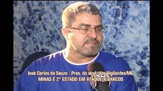 Minas Gerais � segundo estado onde mais se rouba banco no Brasil