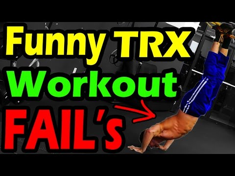 Hilarious Gym Workout FAILS 2017 ➟  Funny Trx Epic Exercise Fail Compilation | New & better Failarmy